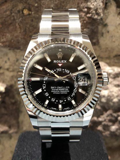 Rolex Sky-Dweller Black, Ref.: 326934, neu/ungetragen 01/2021