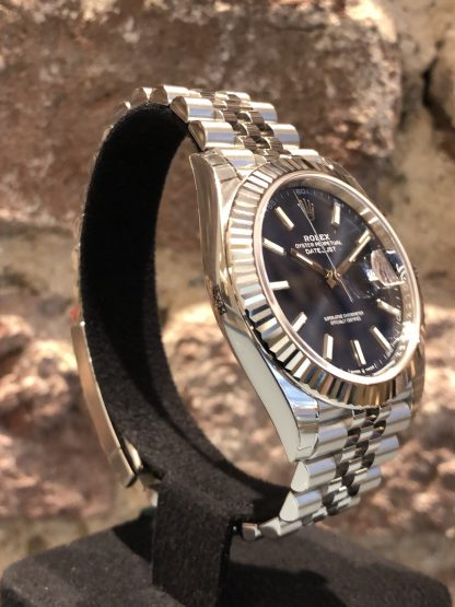 Rolex Datejust 41 Blue Dial, Ref.: 126334, Neu Ungetragen LC EU 08/2020