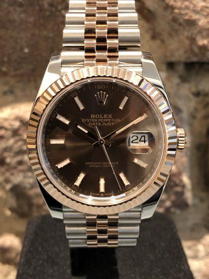 Rolex Datejust II Jubilee Steel Rose, Ref.: 126331, neu/ungetragen 11/2020
