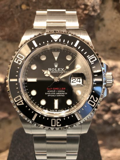 Rolex Sea-Dweller Single Red, Ref.: 126600 LC EU 10/2020