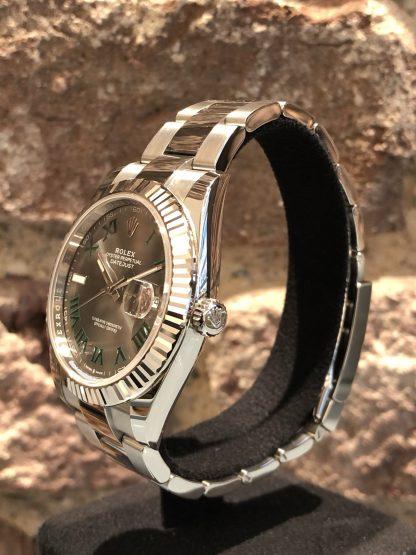 Rolex Datejust 41 Wimbeldon Dial, Ref.: 126334, neu/ungetragen 09/2020