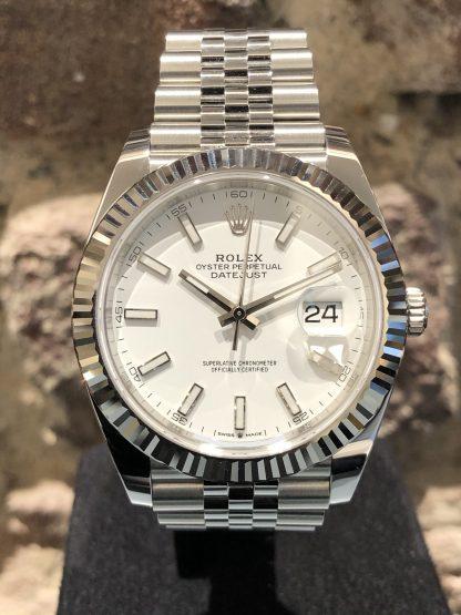Rolex Datejust 41, Ref.: 126334, Neu und ungetragen LC EU 03/2020