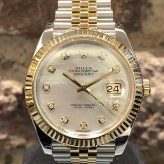 Rolex Datejust 41mm, Ref.: 126333, sehr guter Zustand, 07/2019