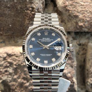 Rolex Datejust 36 Blue Dial, Ref.: 126234, neu/ungetragen 12/2020